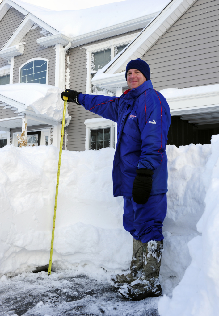 Buried in snow buffalo area expected to get more