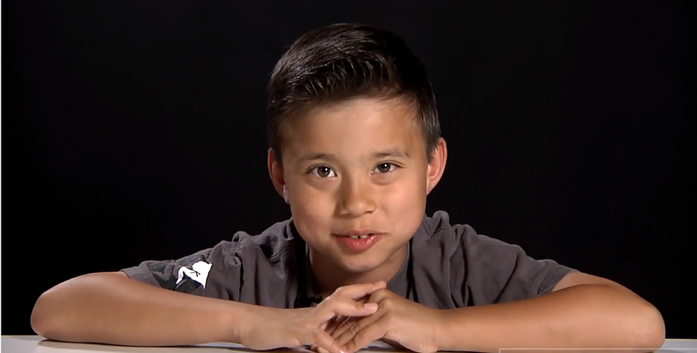 Evan, 8, is YouTube's most popular kid. He gets over 800 million views from EvanTubeHD. YouTube screen image