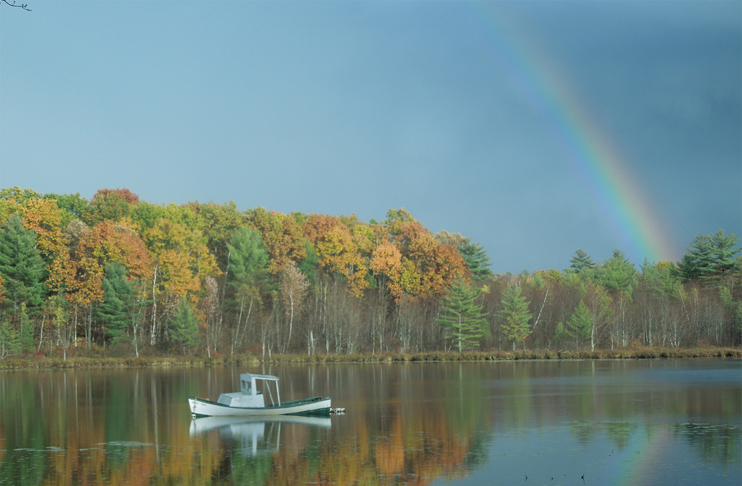 Waterboro's Heidi Reed may still be looking for that pot of gold, but York County's lake country sure glitters.