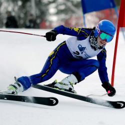 Alpine state championships at Shawnee Peak Thursday, Feb. 27, 2014.