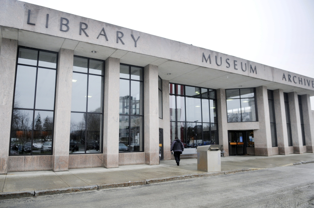 A man from Bath allegedly tried to abduct a 2-year-old Thursday from the Maine State Museum, which is in the Maine State Cultural Building in Augusta, shown here.