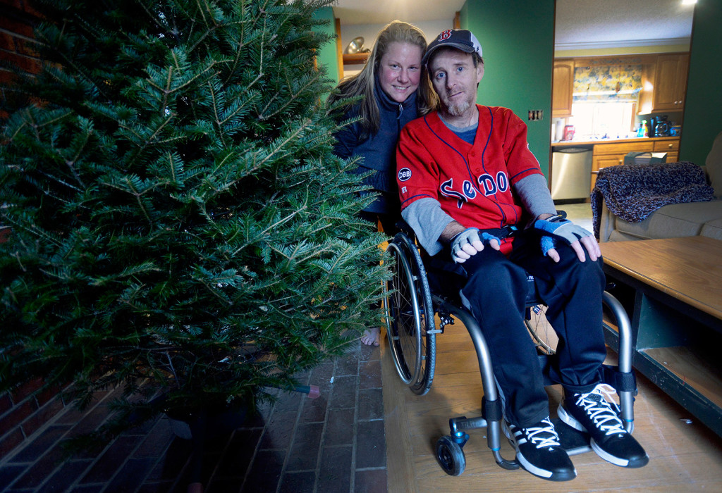 Bruce Auto Parts >> Home for Christmas: Paralyzed in ATV crash, Brian Walker ...