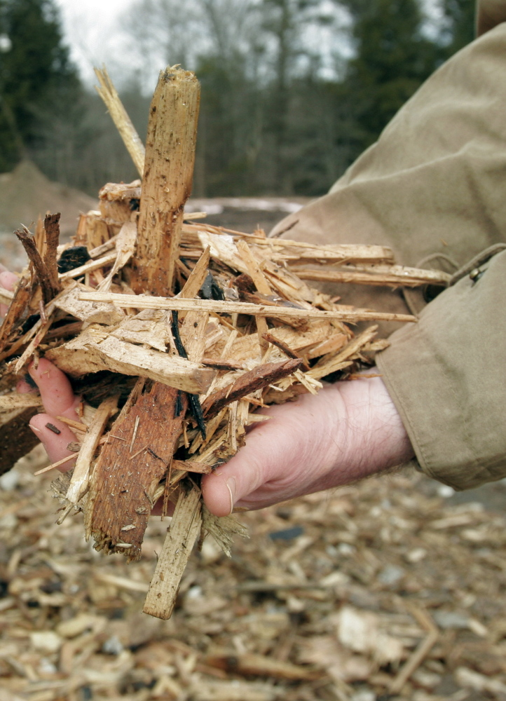 Maine is finally getting recognition for wood chips that make up the state's second largest source of renewable energy.