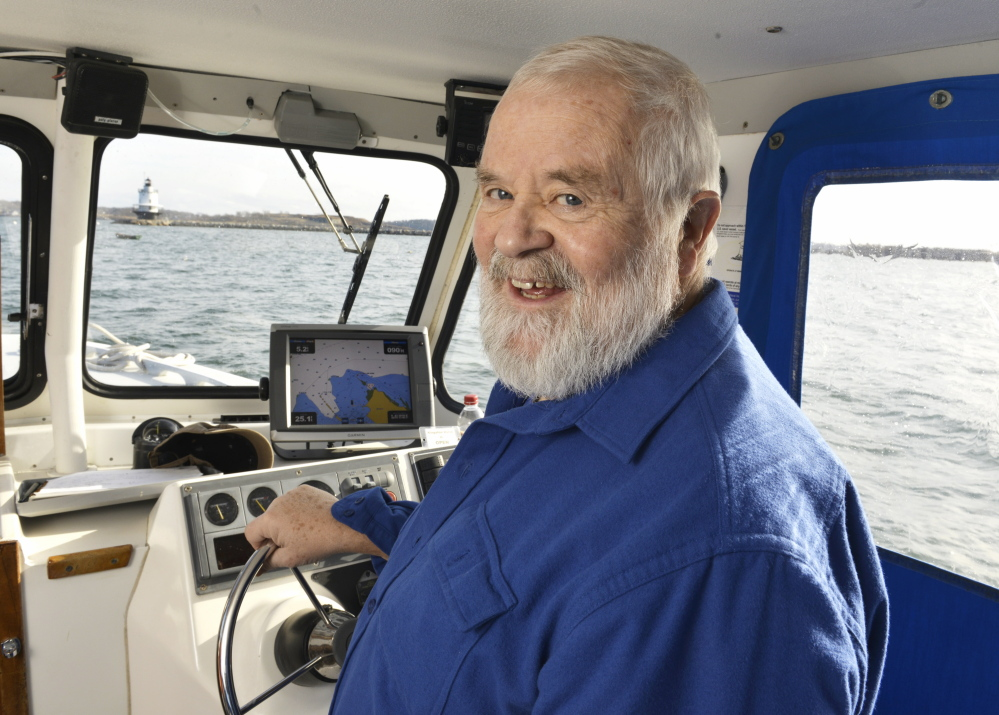 Joe Payne will be retiring next month after 24 years as baykeeper for Friends of Casco Bay. He was one of the first waterkeepers in the United States.