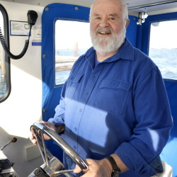 Joe Payne, Casco Bay baykeeper, will be retiring next month after 24 years working for Friends of Casco Bay.