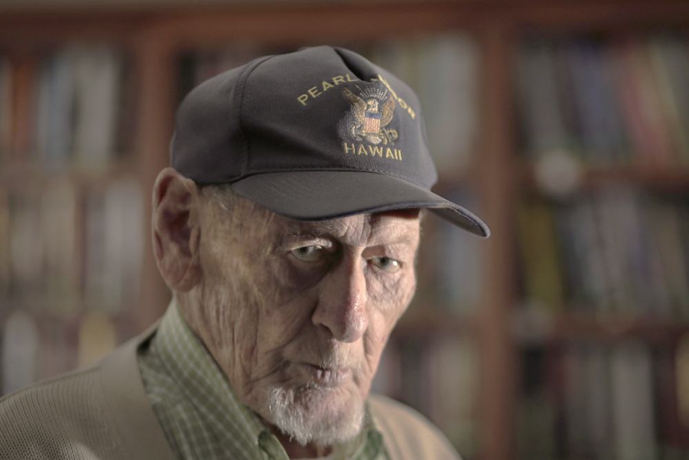 Jim Watson, 95, of South Portland says he has been told he's the oldest Pearl Harbor survivor in Maine. He plans to attend the Remembrance Day ceremony at 1 p.m. Sunday at Fort Allen Park in Portland.