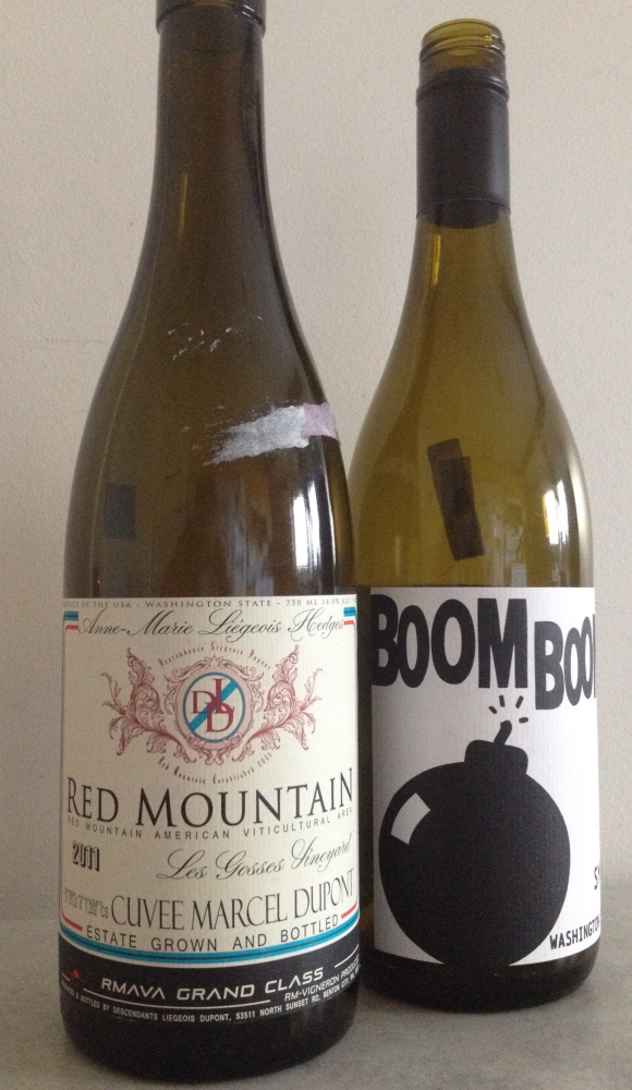 Hedges Cuvée Marcel Dupont 2011 and Boom Boom Syrah 2013 stand out among Washington syrahs.
