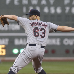 Justin Masterson finished 7-9 last season pitching with Cleveland and St. Louis. He feels injuries contributed to his struggles and will move forward when he returns to Boston.
