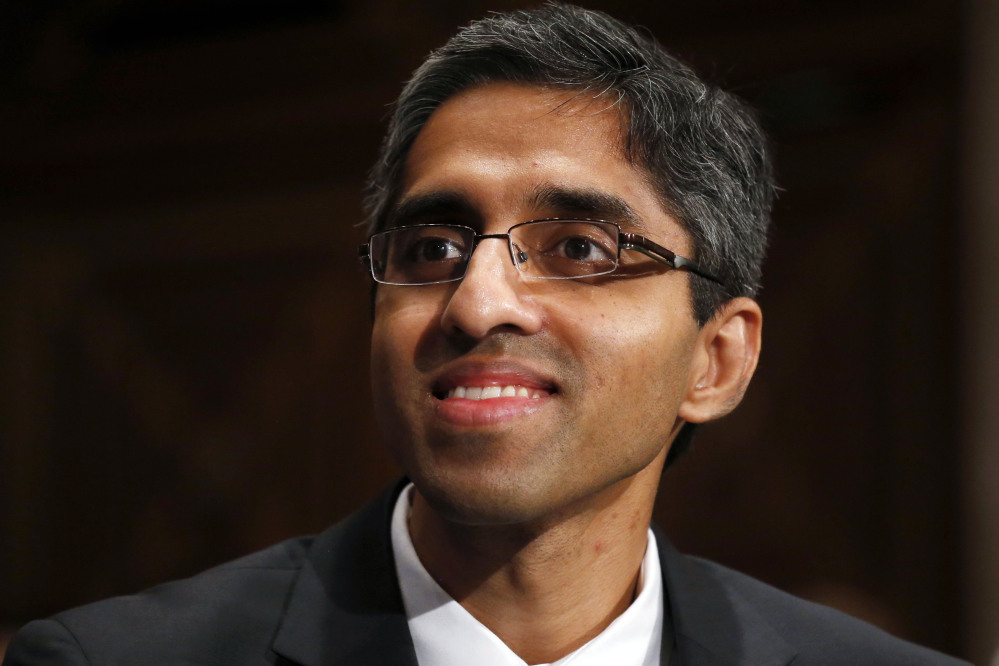 Dr. Vivek Murthy won Senate confirmation Monday to be the next U.S. surgeon general. The U.S. has been without a Senate-confirmed surgeon general since July 2013. The surgeon general doesn't set policy but is an advocate for the people's health.