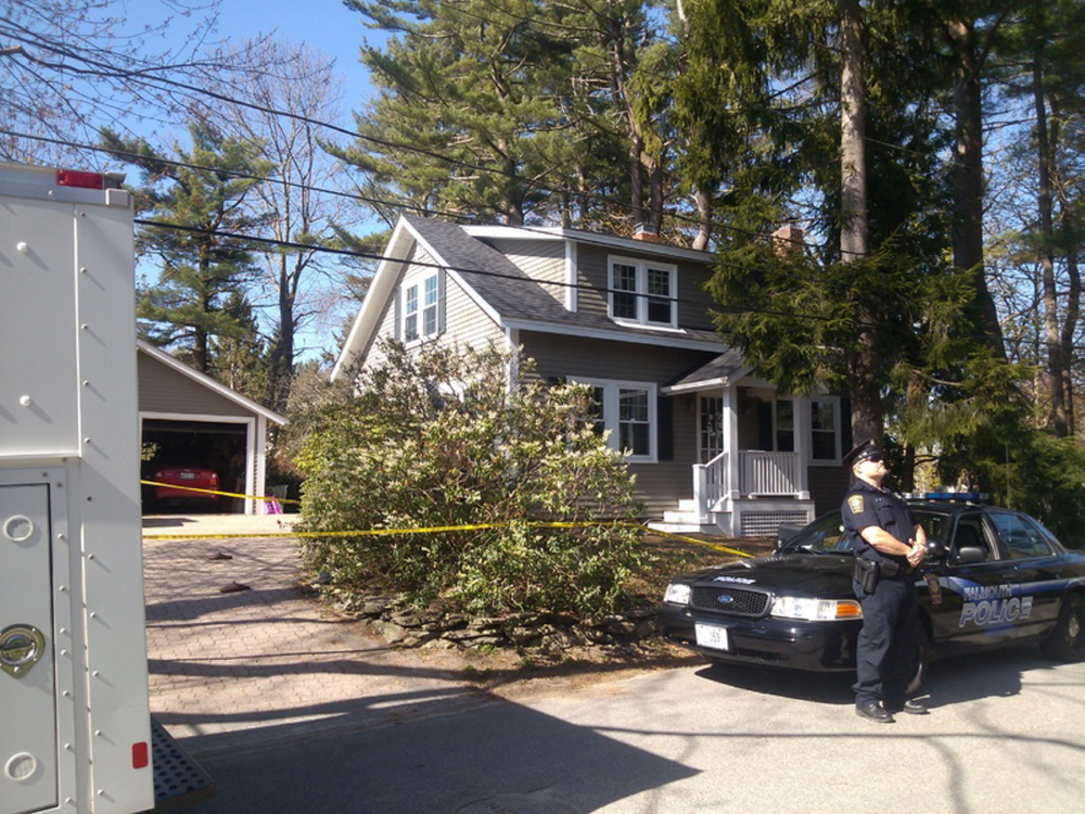 Andrew Leighton shared this home in Falmouth with his parents, police say.