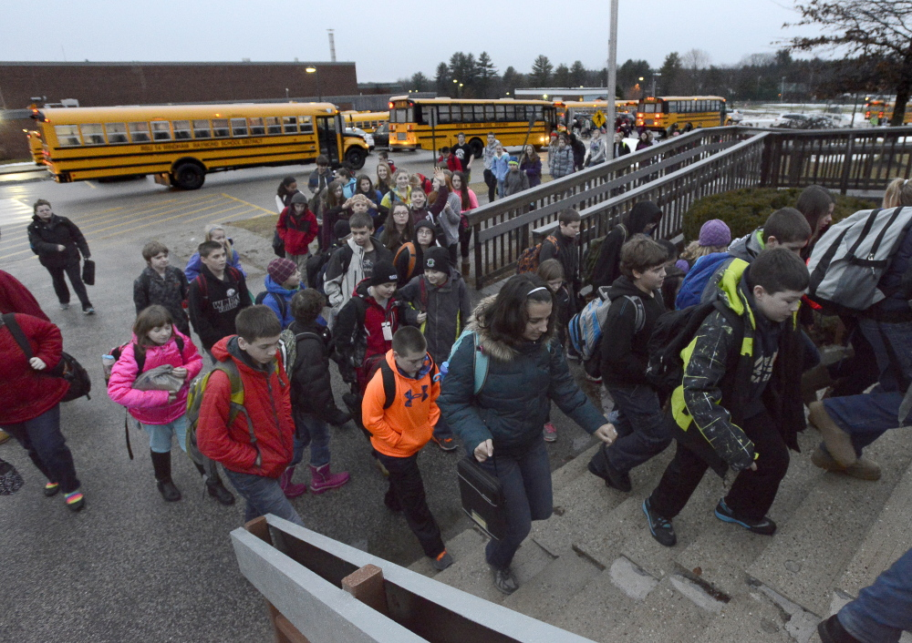 Windham middle school students return to class after a three-day shutdown caused by an emailed threat.