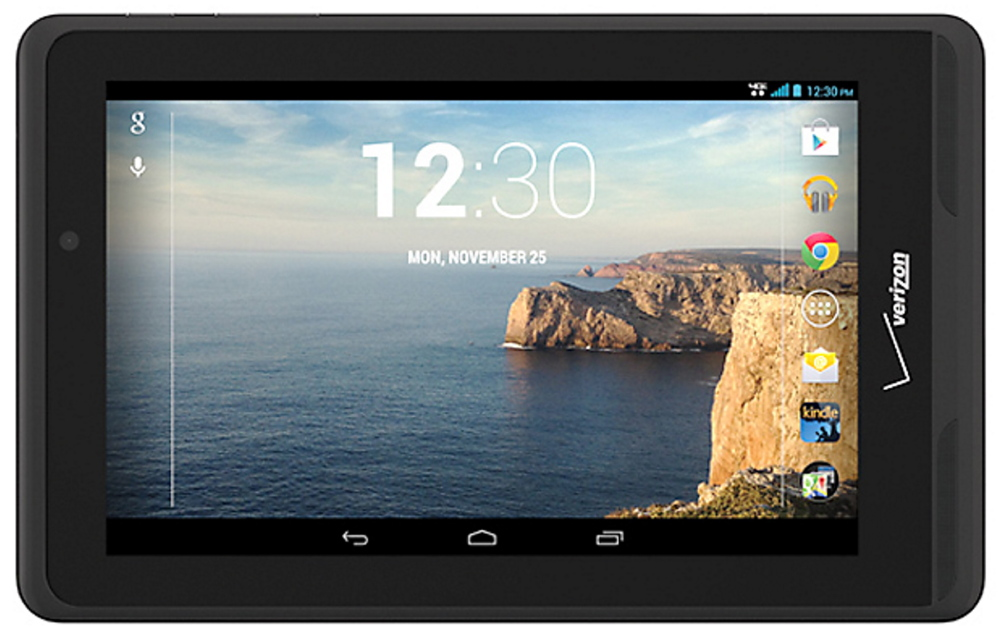 Verizon stores are offering a 7-inch Ellipsis tablet for free to customers who sign up for two years of data service.