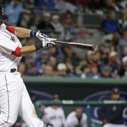 The Boston Red Sox have traded third baseman Will Middlebrooks to the San Diego Padres. The Red Sox will receive catcher Ryan Hanigan in return. Middlebrooks hit .288 with 15 home runs in 75 games as a rookie in 2012, but batted just .213 and battled injuries in the two seasons since then.