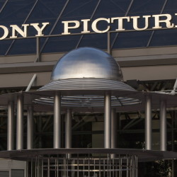 "An exterior view of the Sony Pictures Plaza building in Culver City, Calif., on Friday. President Barack Obama declared Friday that Sony ""made a m"