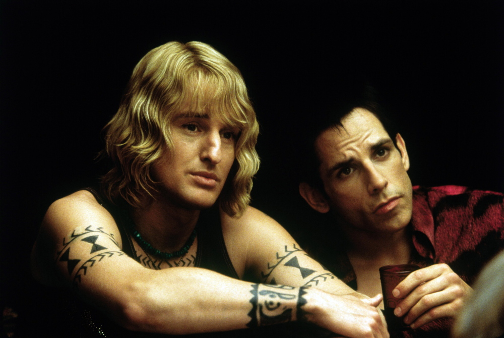 "Owen Wilson, left, and Ben Stiller during a scene from ""Zoolander"""