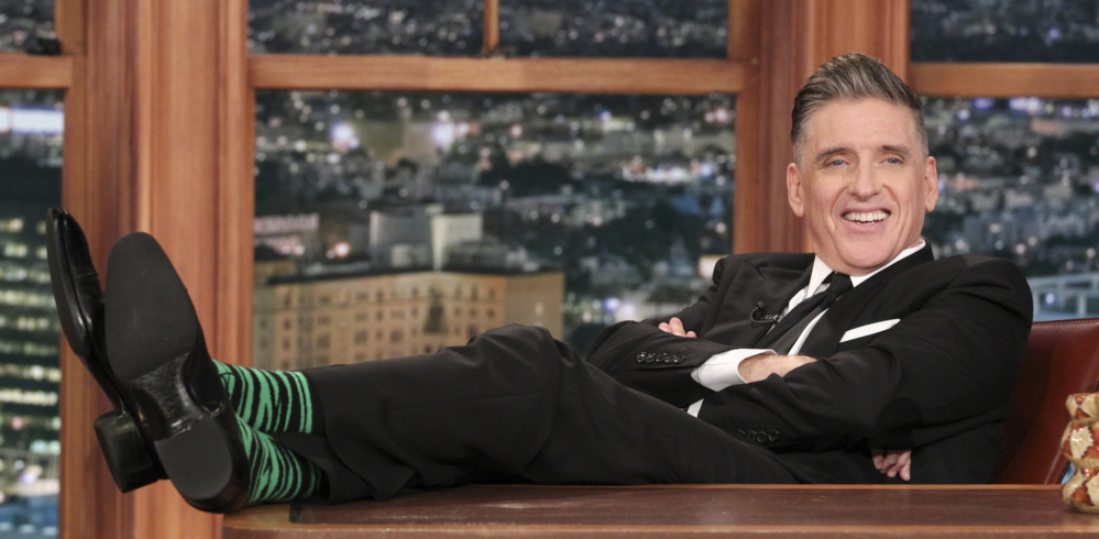 Craig Ferguson appears at the taping of his final episode.