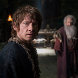 """Martin Freeman appears in """"The Hobbit: The Battle of the Five Armies."""" Warner Bros./"""