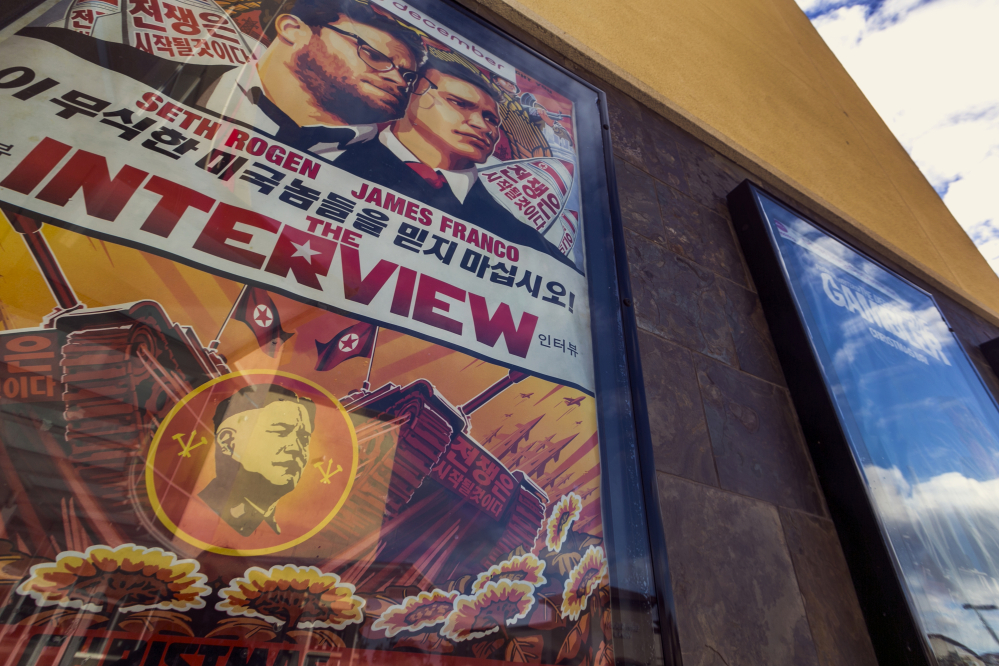 "In an unprecedented move, Sony Pictures broadly released ""The Interview"" to digital platforms, a reversal of its previous plan not to show the film after hackers released thousands of documents online and threatened violence at theaters showing the comedy that depicts the assassination of North Korean leader Kim Jong Un."