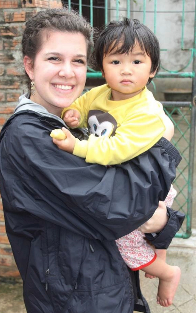 Marina Stam was moved by the poverty she saw in Vietnam during a North Yarmouth Academy class trip last spring.