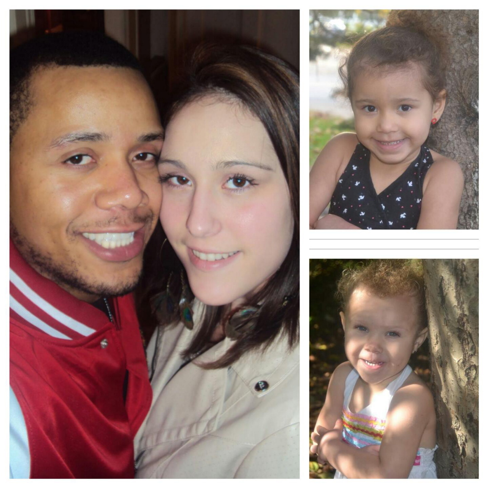 Clockwise from left: Steven and Ashley Summers, Audryn Summers, 5, and Maliya Summers, 3. Courtesy of Ashley Summers