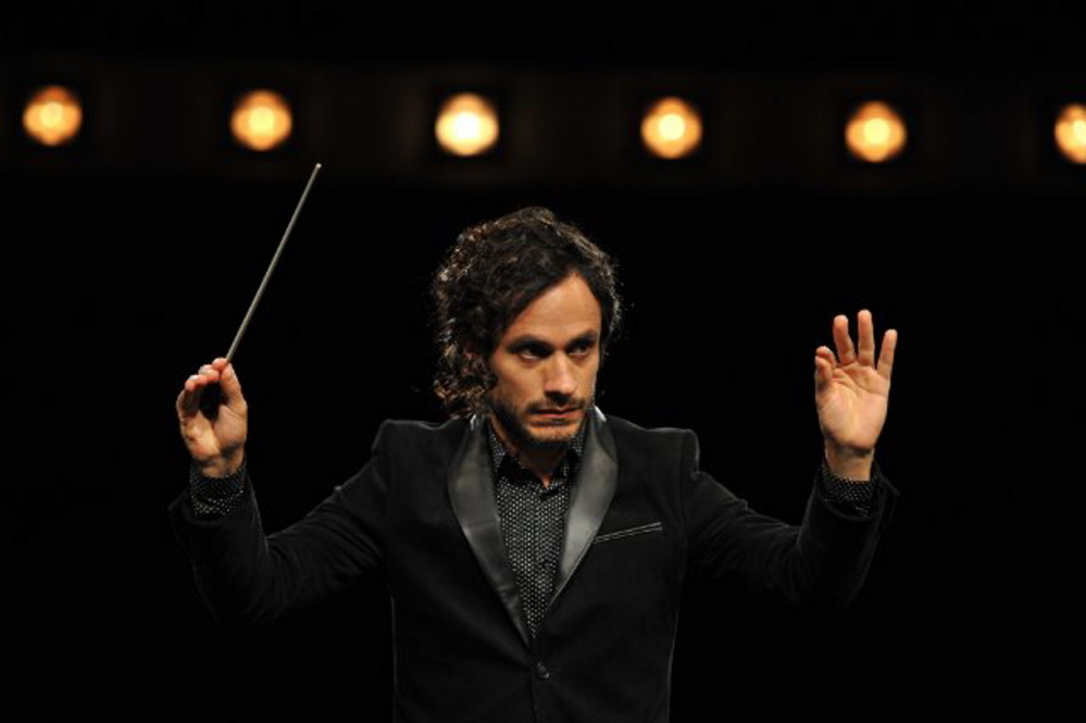 "Gael Garcia Bernal as Rodrigo in ""Mozart in the Jungle."""
