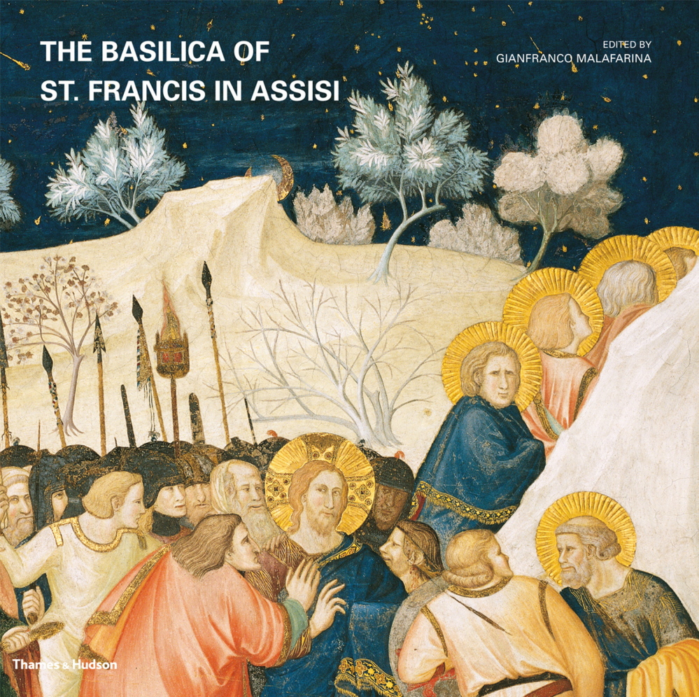 """The Basilica of St. Francis in Assisi"" cover image. Courtesy of Thames and Hudson."