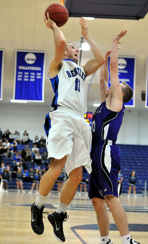 Keegan Hyland, who was so good at South Portland High that Gonzaga came calling, has regained his touch after four years of injuries that started as a high school senior. And Bentley University is reaping the rewards.