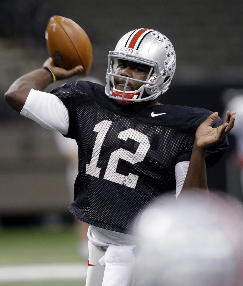 Cardale Jones has shown signs of immaturity, once tweeting he didn't see the need to attend classes, but he'll have to grow up fast as the quarterback for Ohio State against Alabama in the Sugar Bowl on Thursday.