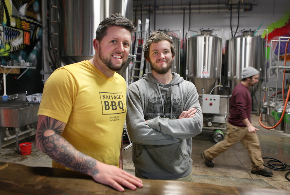 Bissell Brothers use their heads to satisfy beer fans