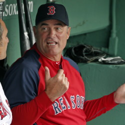 Manager John Farrell led the Red Sox to the World Series in 2013 and a last-place finish in the American League East in 2014.