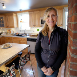 Krista Kern Desjarlais in her home kitchen. The owner of Bresca & the Honeybee gives a chef's view of restaurant critiques.