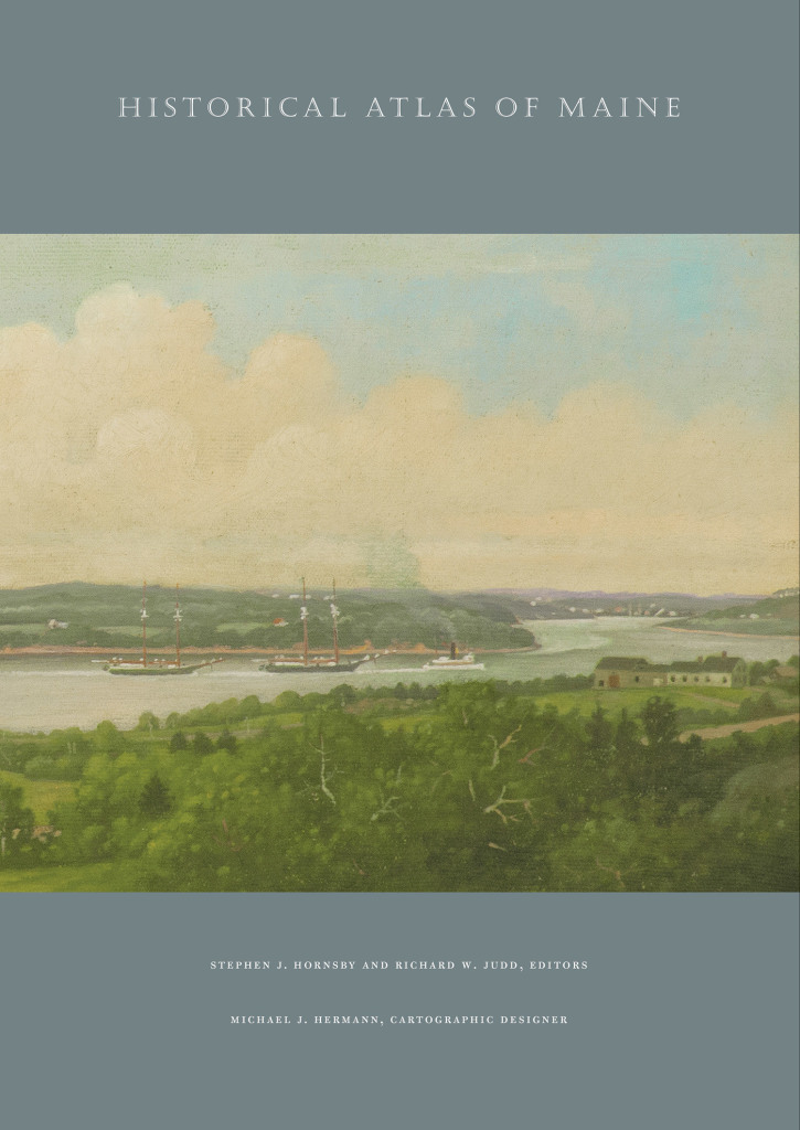 "The ""Historical Atlas of Maine"" is 208 pages that cover a broad variety of topics."