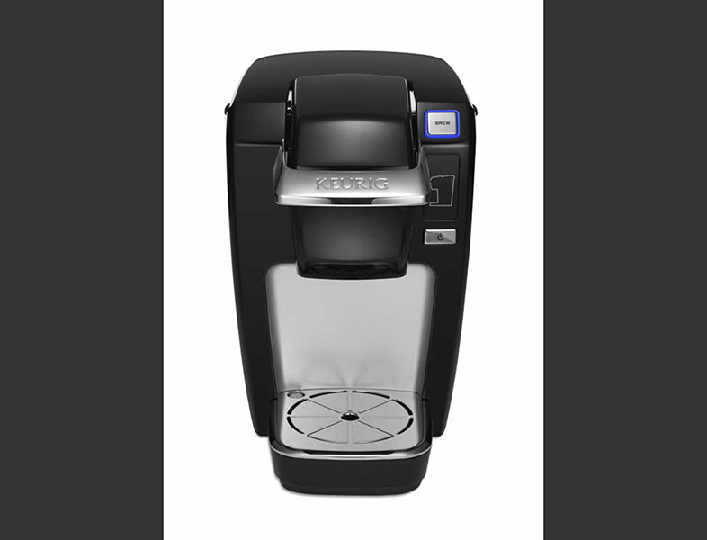 This undated product image from Keurig and released by the Consumer Product Safety Commission shows the Keurig Mini Plus coffee brewer. The Associated Press