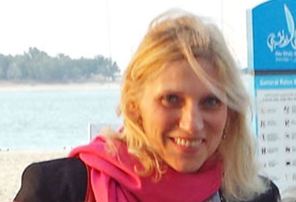 An undated photo released by Footprints Recruiting of American schoolteacher Ibolya Ryan, who was killed in a stabbing attack in the restroom of the Boutik Mall on the upscale Reem Island in Abu Dhabi, United Arab Emirates. The Associated Press
