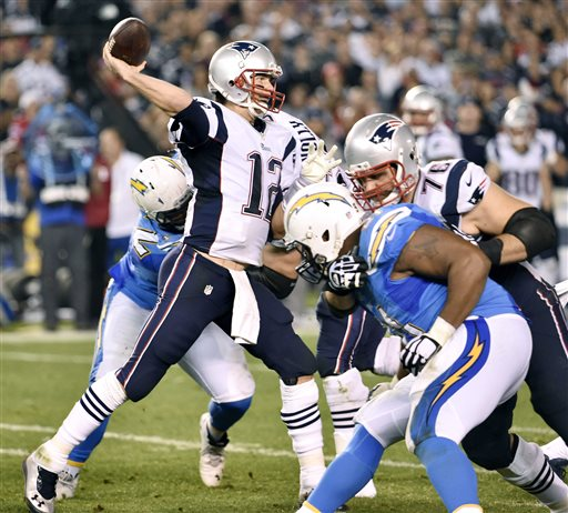 San Diego Chargers Backup Quarterback: Patriots Bounce Back, Beat Chargers