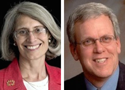 Rep. Margaret Rotundo, D-Lewiston, and Sen. James Hamper, R-Oxford, have been named co-chairs of the Maine Legislature's Appropriations Committee.