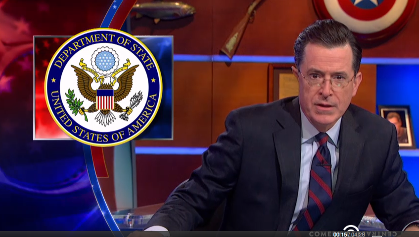 "President Obama is scheduled to appear on  ""The Colbert Report"" Monday during Colbert's one-day visit to Washington."