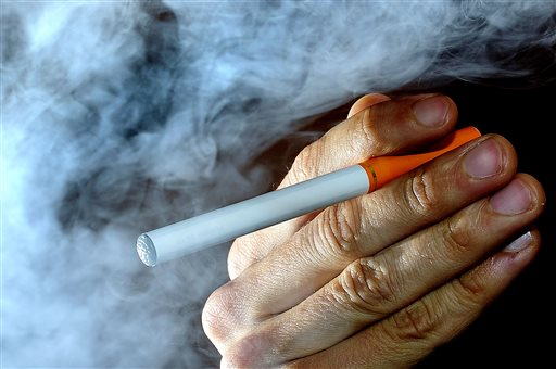 In a National Institutes of Health survey of 8th-graders, nearly 9 percent said they'd used an e-cigarette in the previous month, while just 4 percent reported smoking a traditional cigarette. The Associated Press