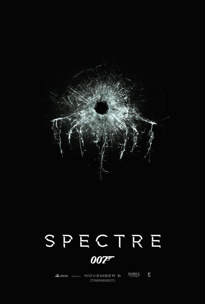 "First poster for ""SPECTRE."""