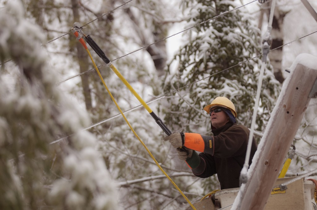 Utility crews are preparing to respond to problems that Tuesday's predicted blizzard might bring. 2013 Press Herald File/Michael C. York