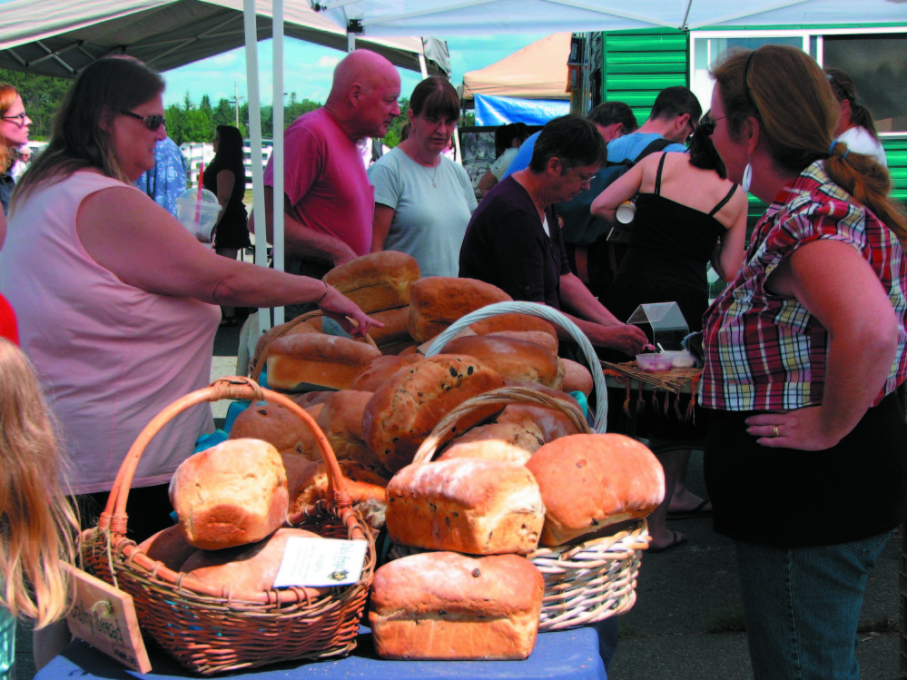 A variety of breads are part of the annual Artisan Bread Fair at the Skowhegan State Fairgrounds.