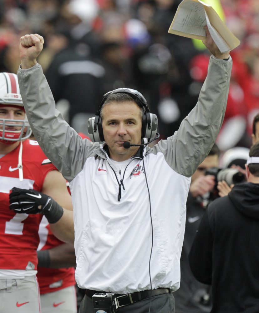 Coach Urban Meyer brought a high-scoring spread offense to Ohio State, which will face its biggest challenge from Alabama and its defensive mastermind of a coach, Nick Saban, whose teams have gone 84-10 in the past seven seasons.