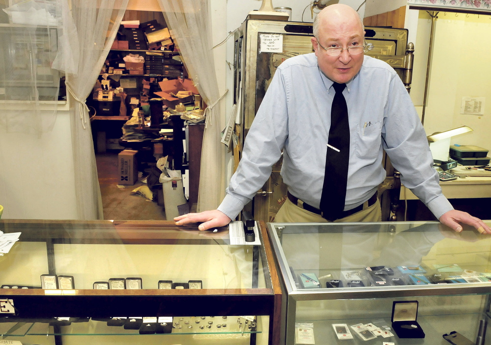 John Anderson, owner of Trask Jewelers speaks about his four decades in the company that has been a longtime fixture on Farmington's Main Street.