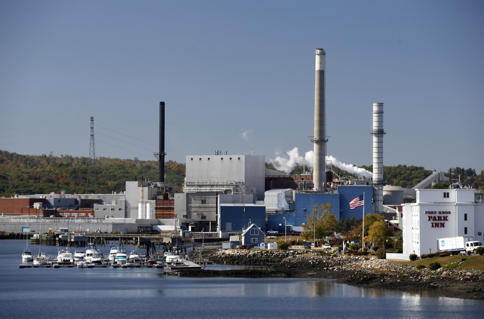 The former Verso Paper Corp. mill in Bucksport, closed in December 2014, will be demolished.