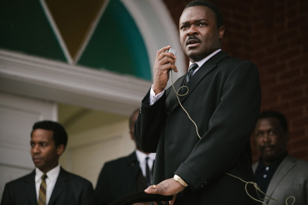 "David Oyelowo as Martin Luther King Jr. in ""Selma."""