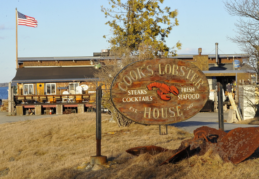Cooks Lobster House on Bailey Island in Harpswell is now under new ownership.