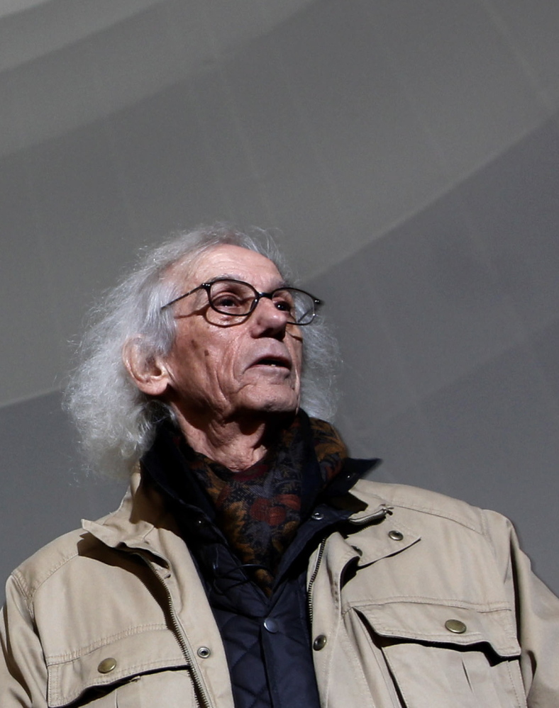 Christo wants to hang almost 6 miles of silvery fabric in sections over the Arkansas River in Colorado.