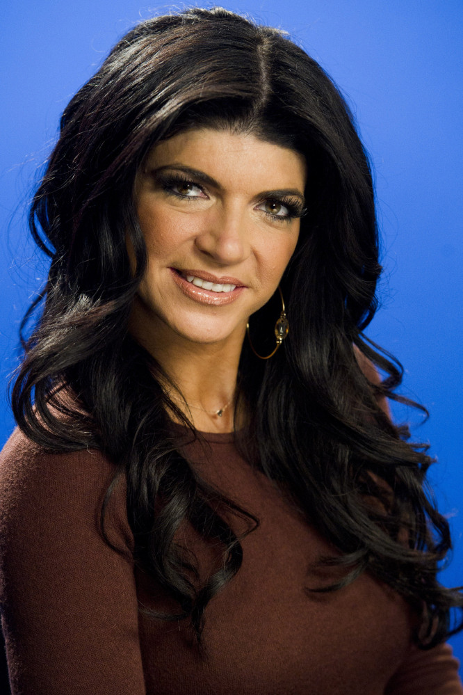 This Jan. 4, 2012, photo shows Teresa Giudice posing for a portrait in New York.