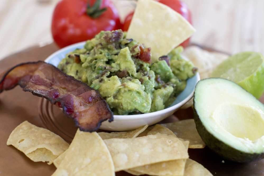 Maple bacon guacamole.