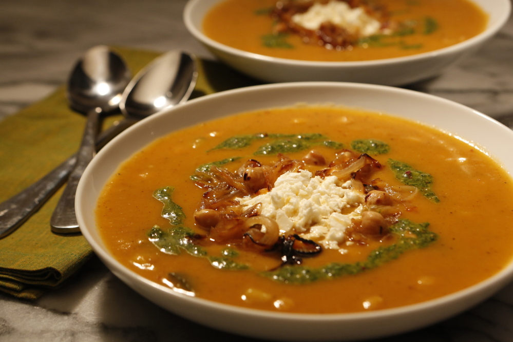 Spiced Vegetable Soup